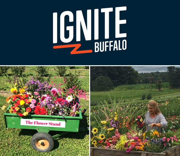 The Flower Stand is in the Ignite Buffalo Final 27!